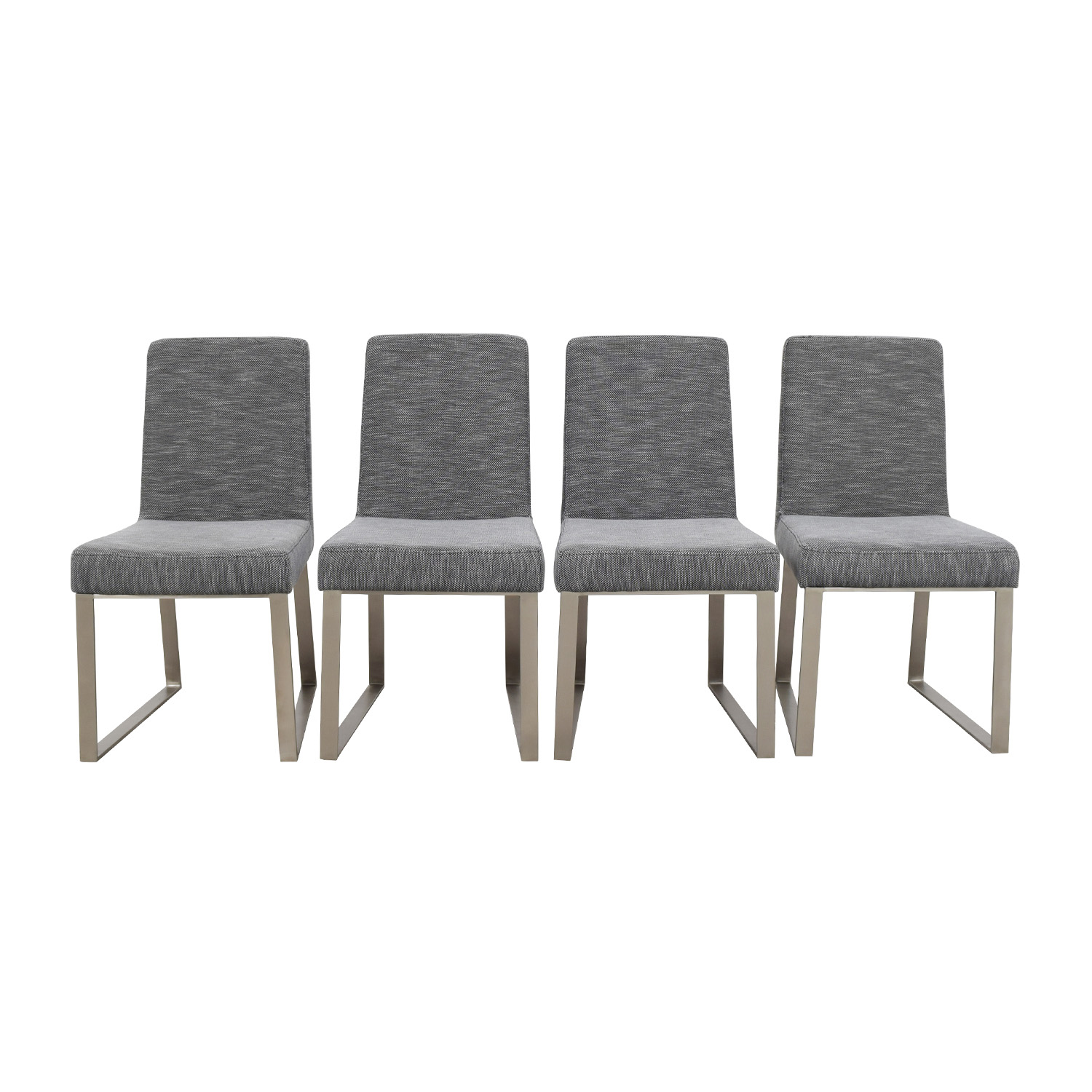 InMod Vivo Grey Chairs InMod