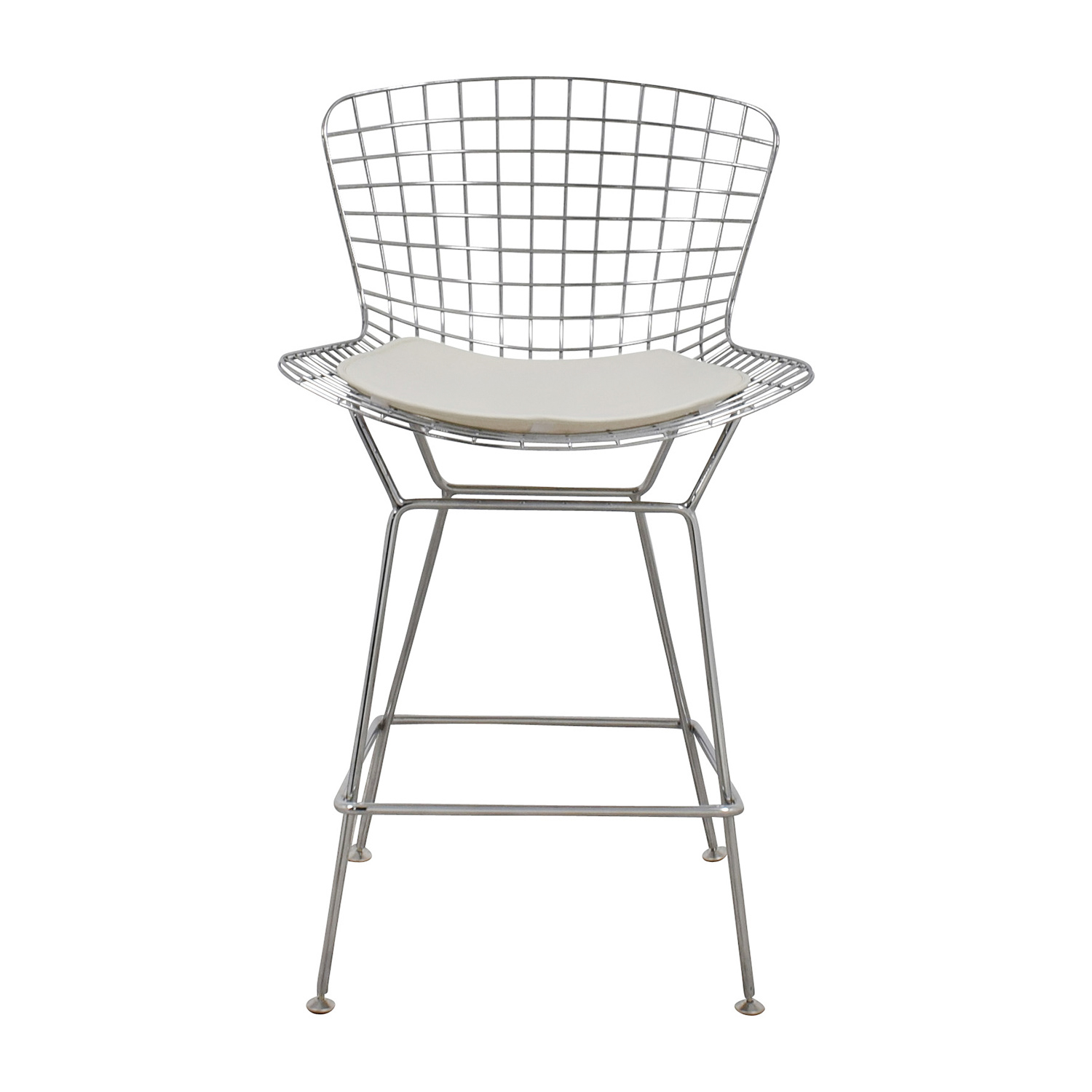 InMod InMod Chrome Wire Bertoia Counter Stool Chairs