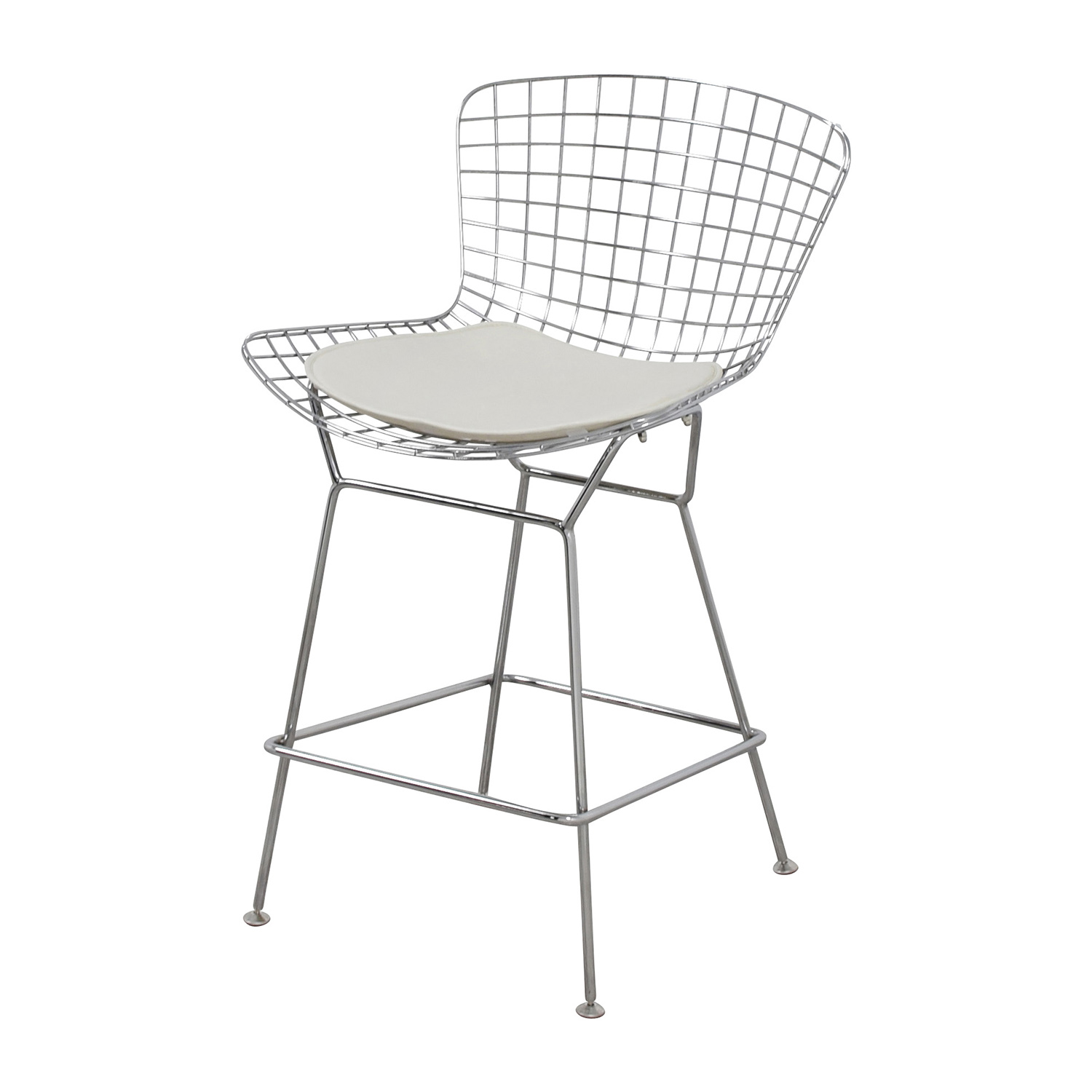 ... Chairs; Shop InMod InMod Chrome Wire Bertoia Counter Stool Online ...