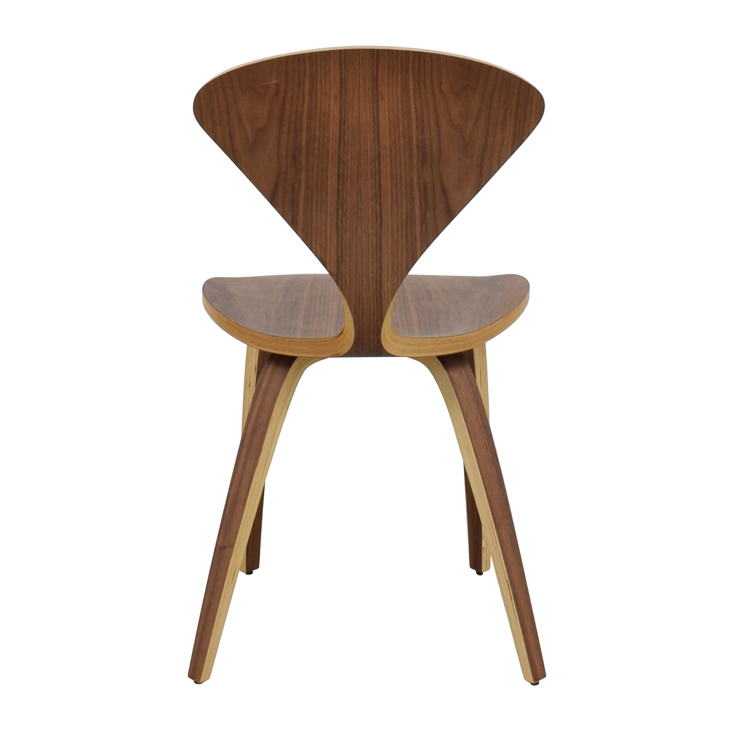 InMod InMod Norman Bentwood Chair Brown