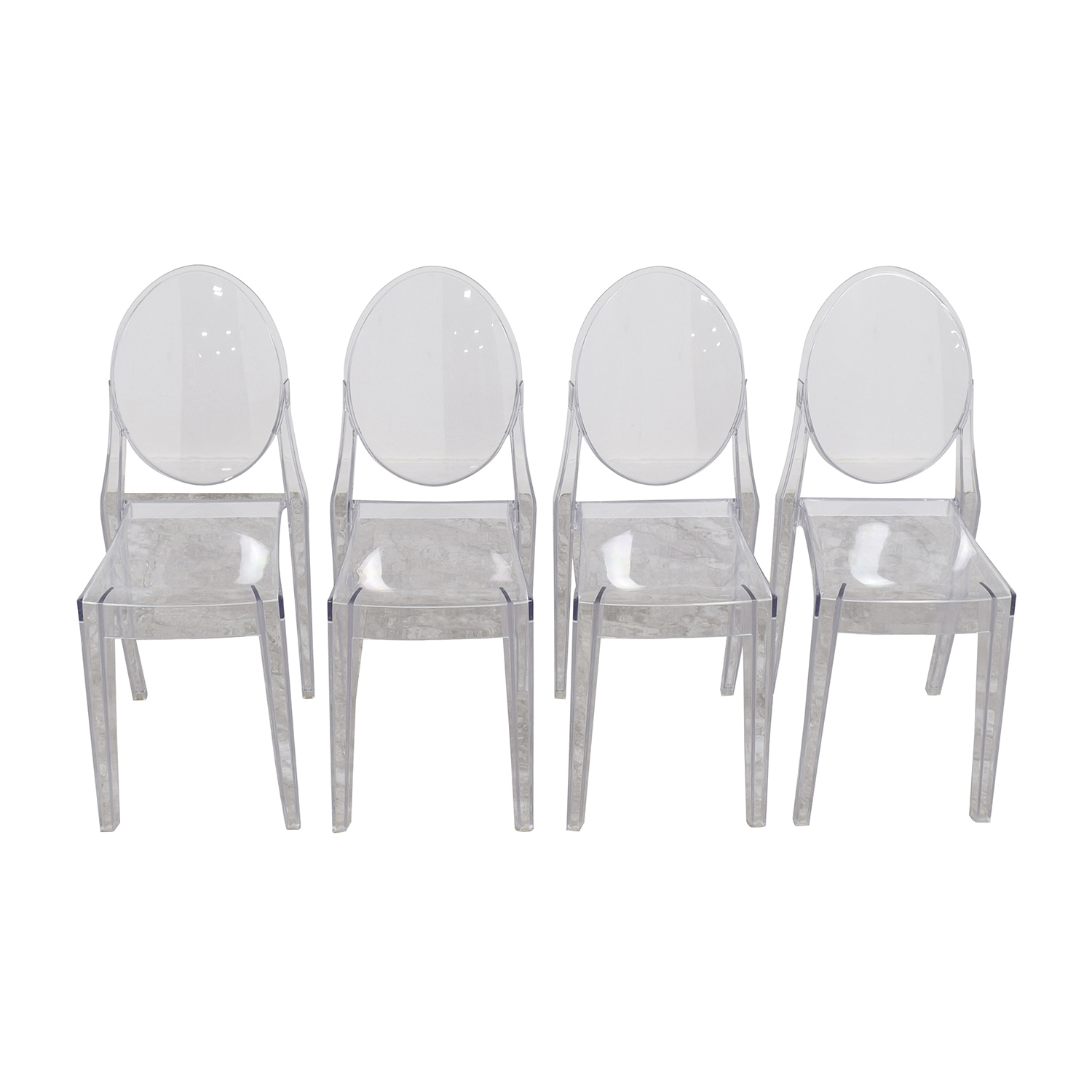 Delightful ... InMod InMod Phantom Stackable Side Chairs Second Hand ...