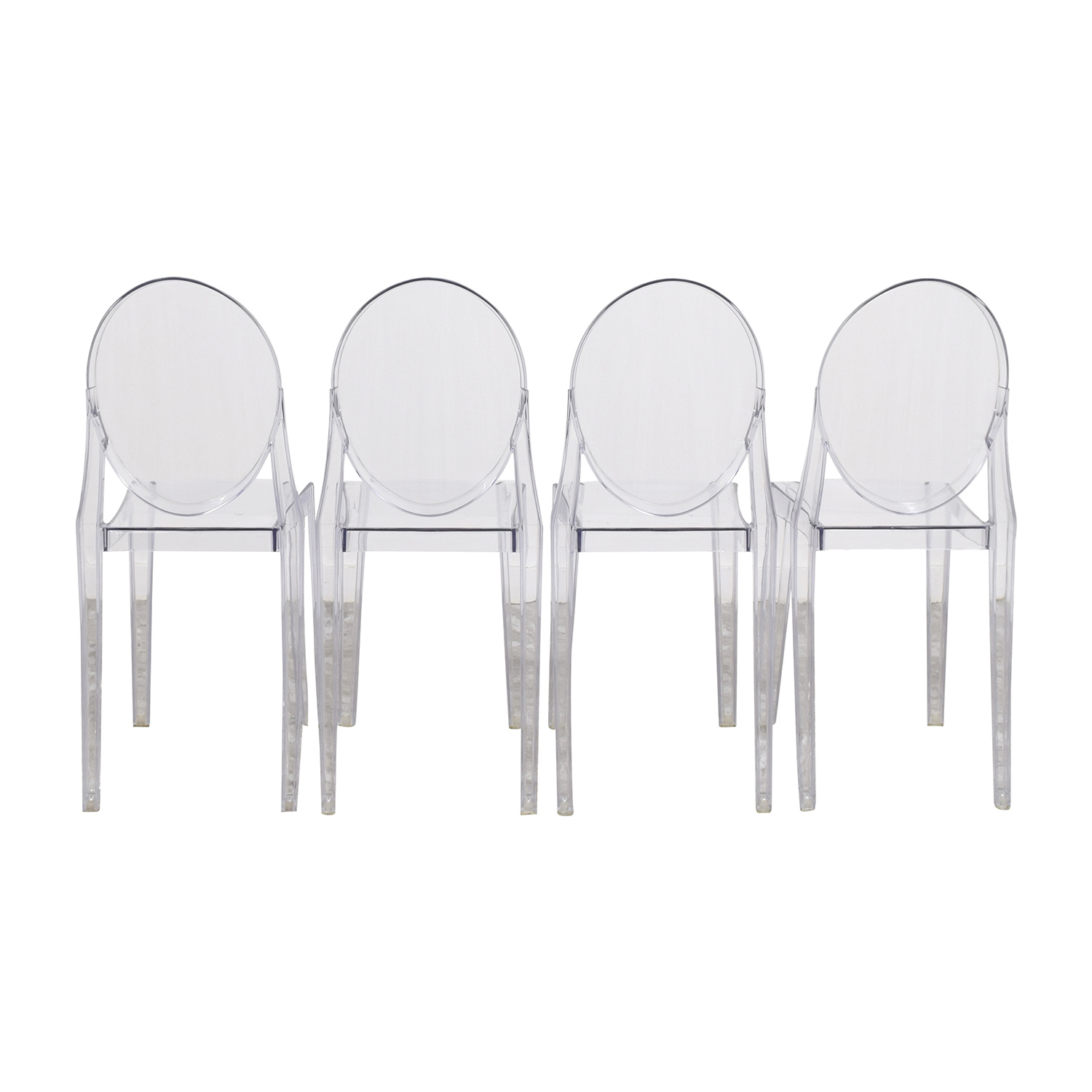 buy InMod Phantom Stackable Side Chairs InMod Dining Chairs