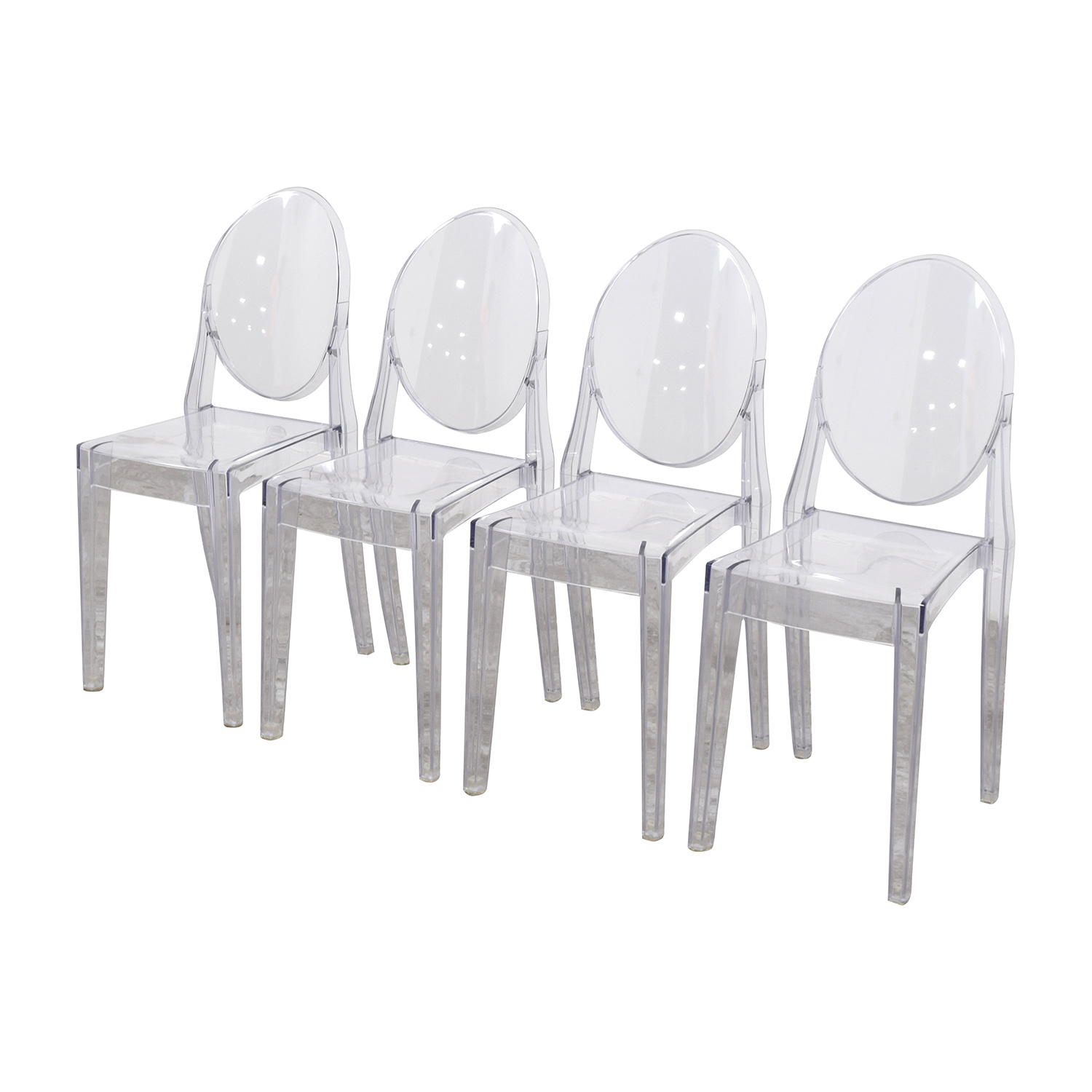InMod InMod Phantom Stackable Side Chairs for sale