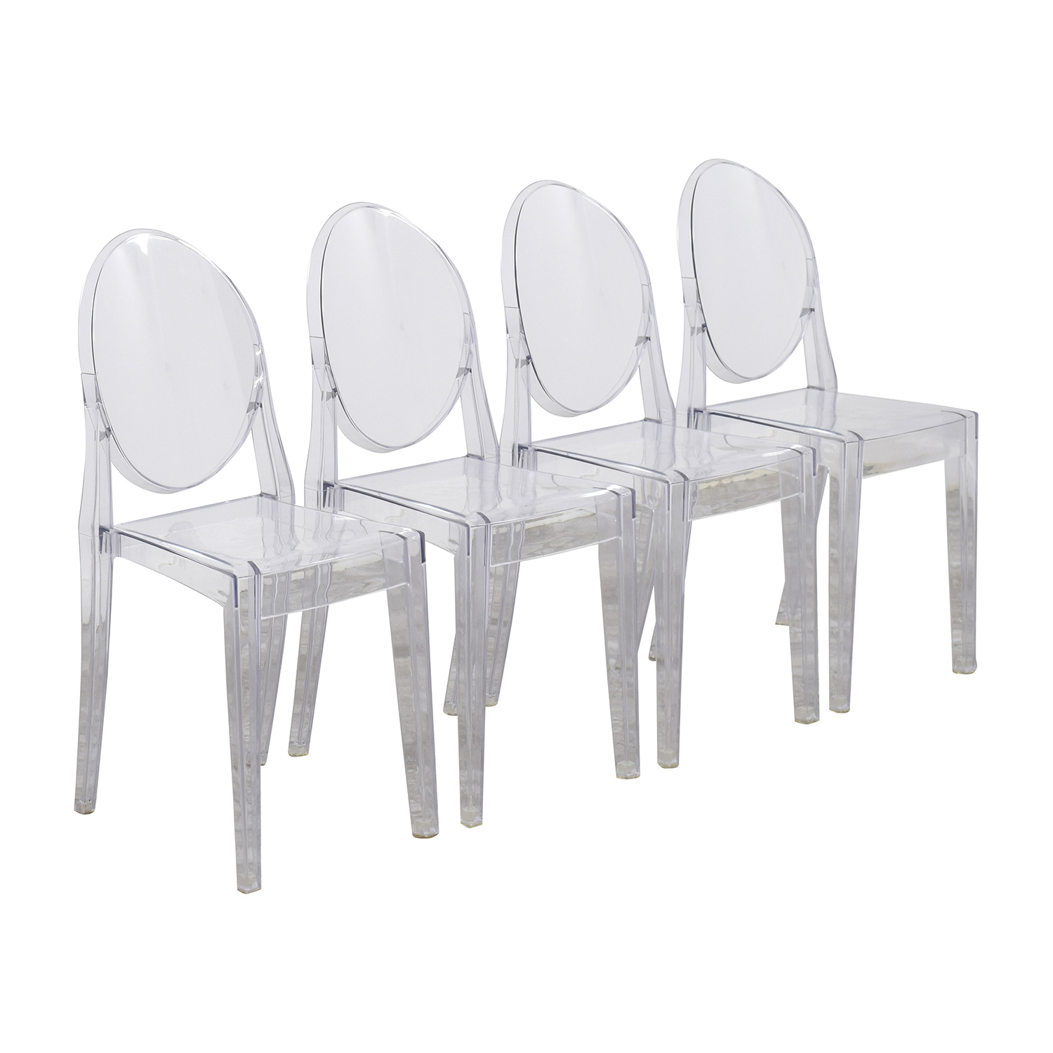 Marvelous ... InMod Phantom Stackable Side Chairs / Dining Chairs ...