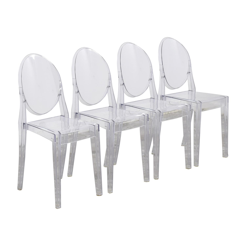 InMod InMod Phantom Stackable Side Chairs nj