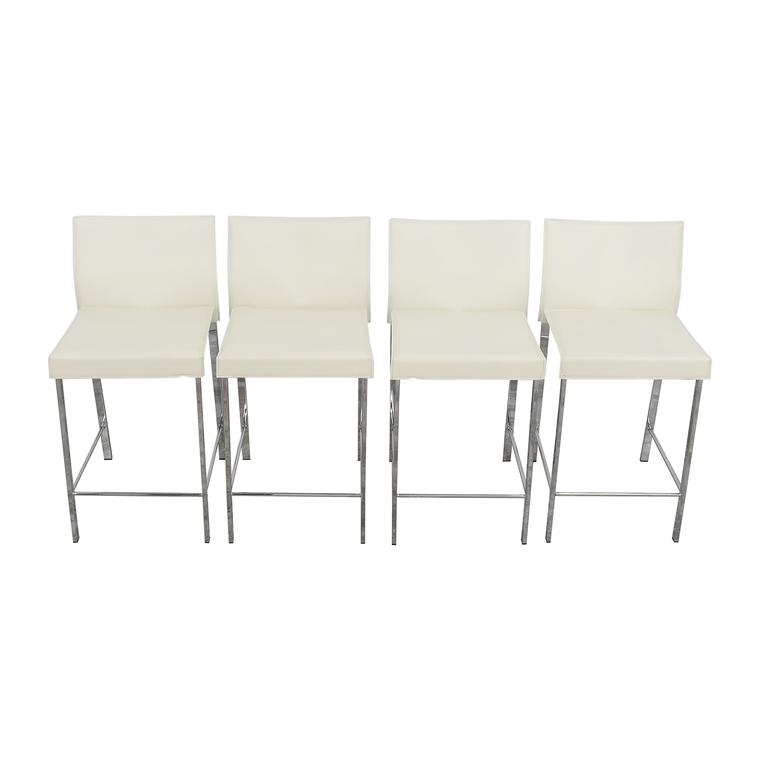 InMod InMod Riley-C Counter White Stool Stools
