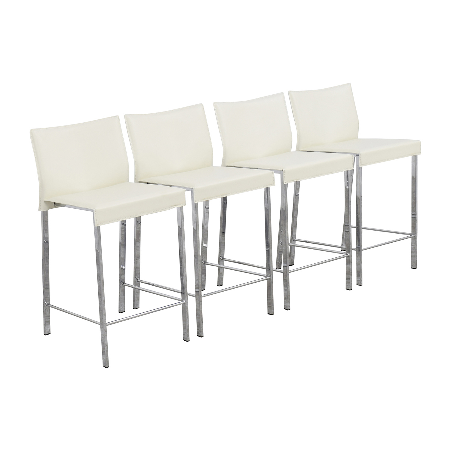 ... InMod Riley C Counter White Stool Sale ...