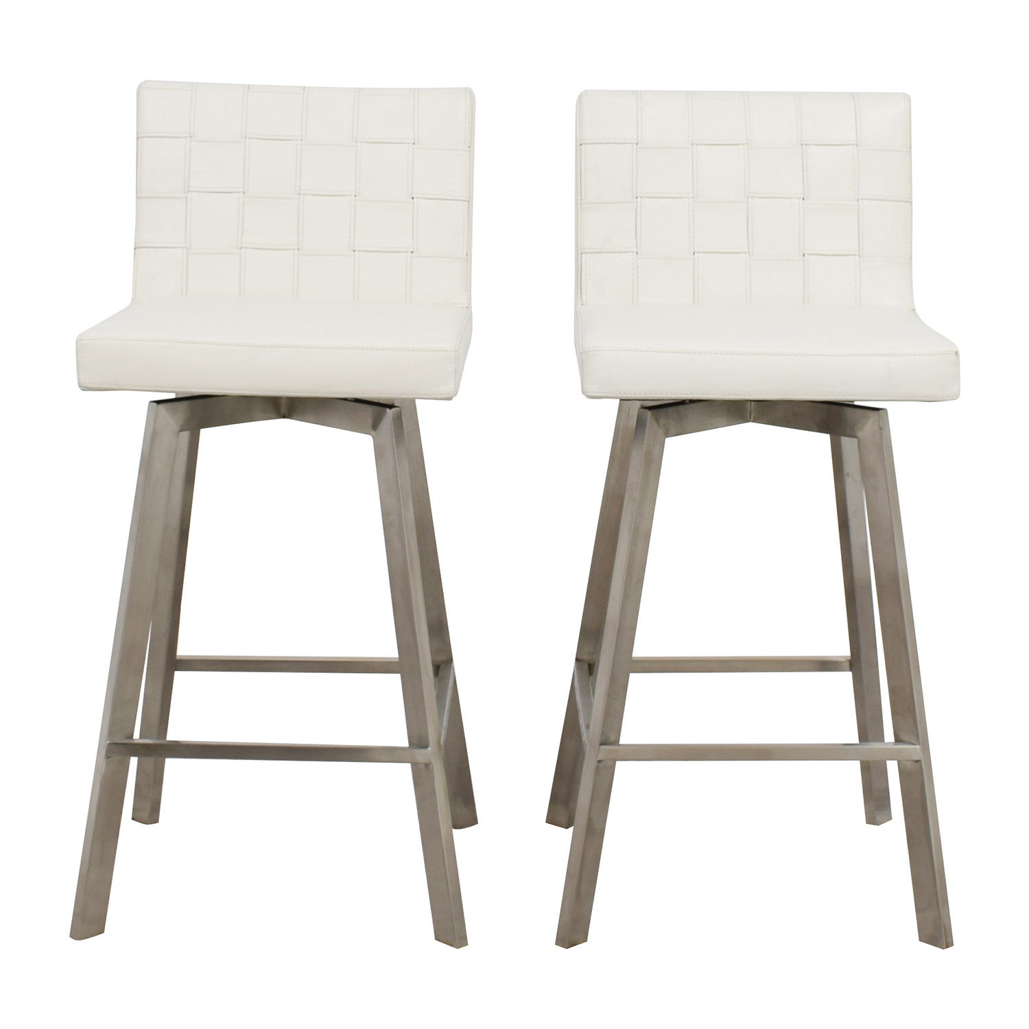 InMod InMod Constantine White Bar Stools for sale