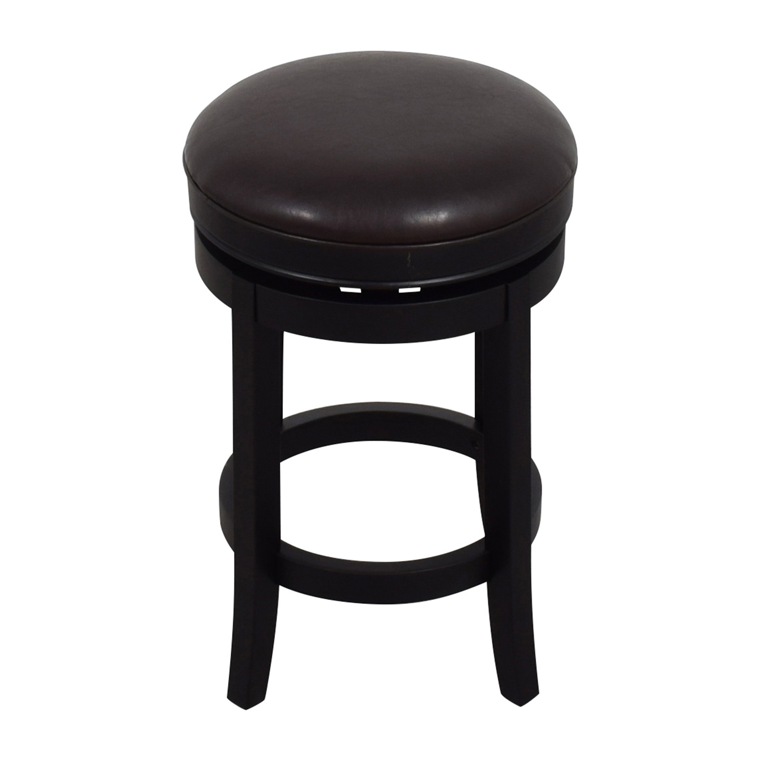 shop Inmod Cedric Round Backless Bar Stool InMod Stools
