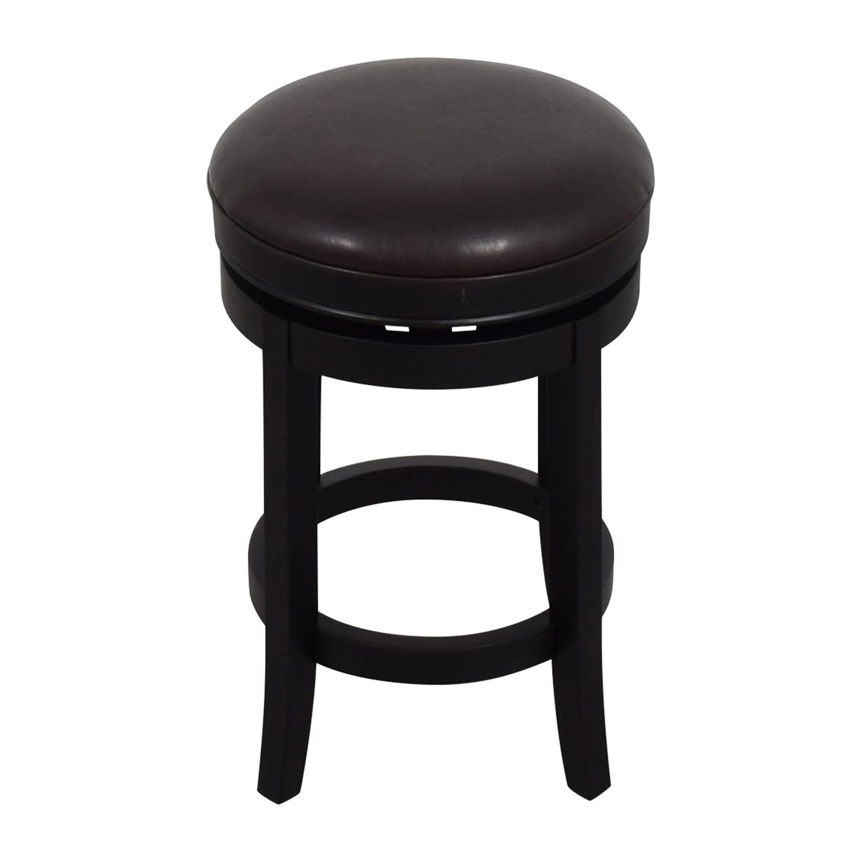Inmod Cedric Round Backless Bar Stool sale