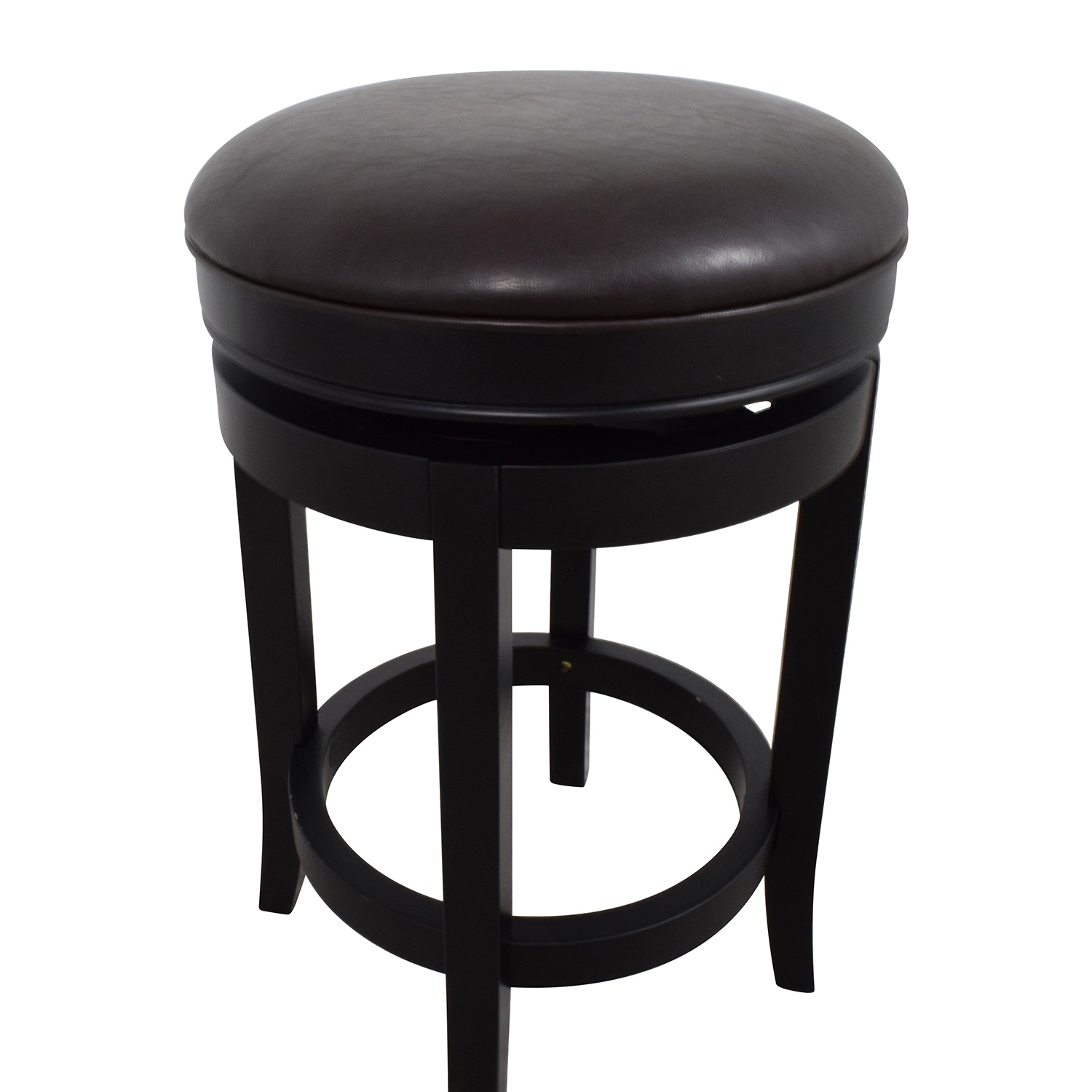 90 Off Inmod Inmod Cedric Round Backless Bar Stool Chairs