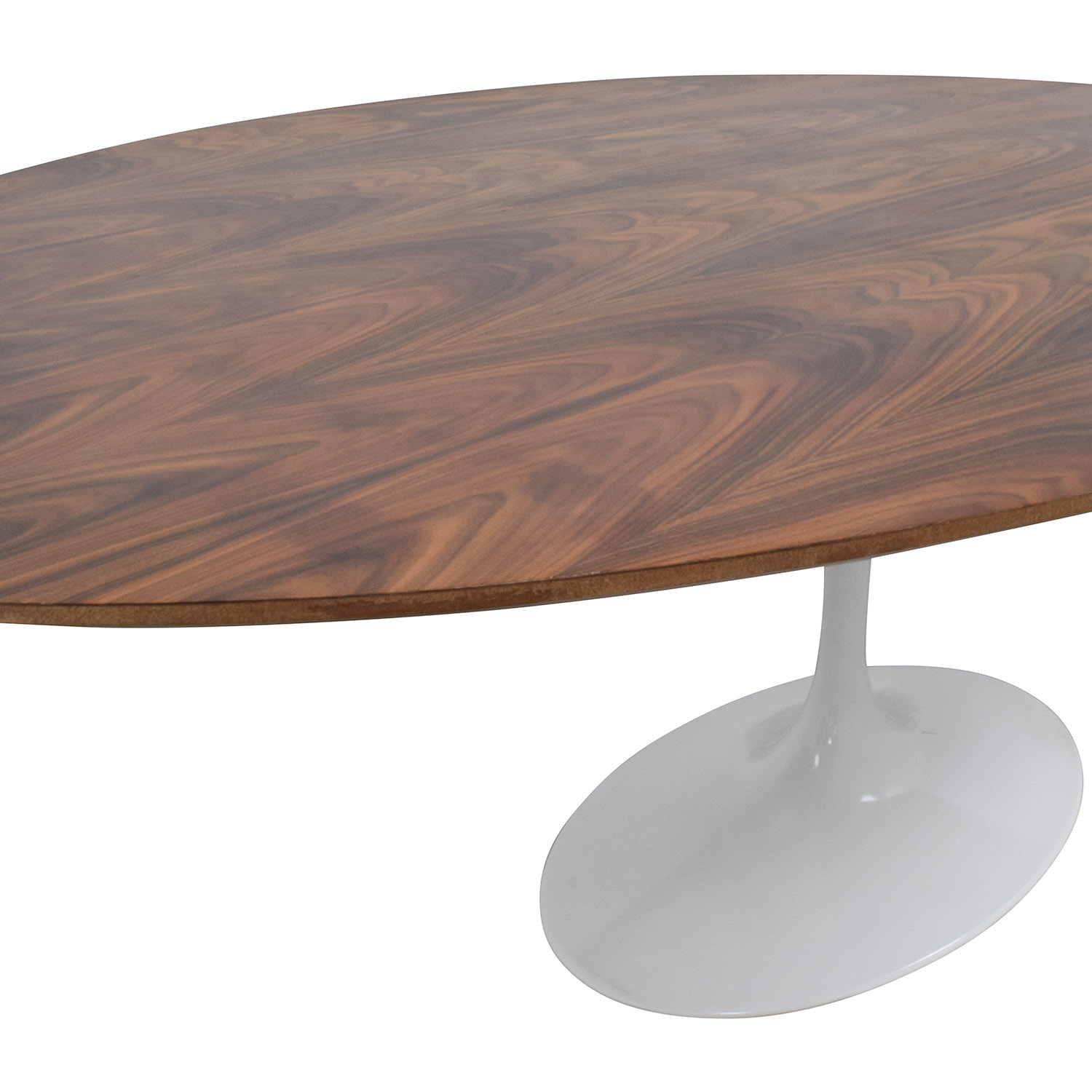 InMod InMod Saarinen Oval Pedestal Dining table BROWN