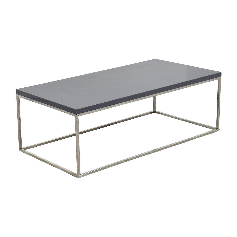 buy InMod Teresa Rectangular Coffee Table InMod Tables