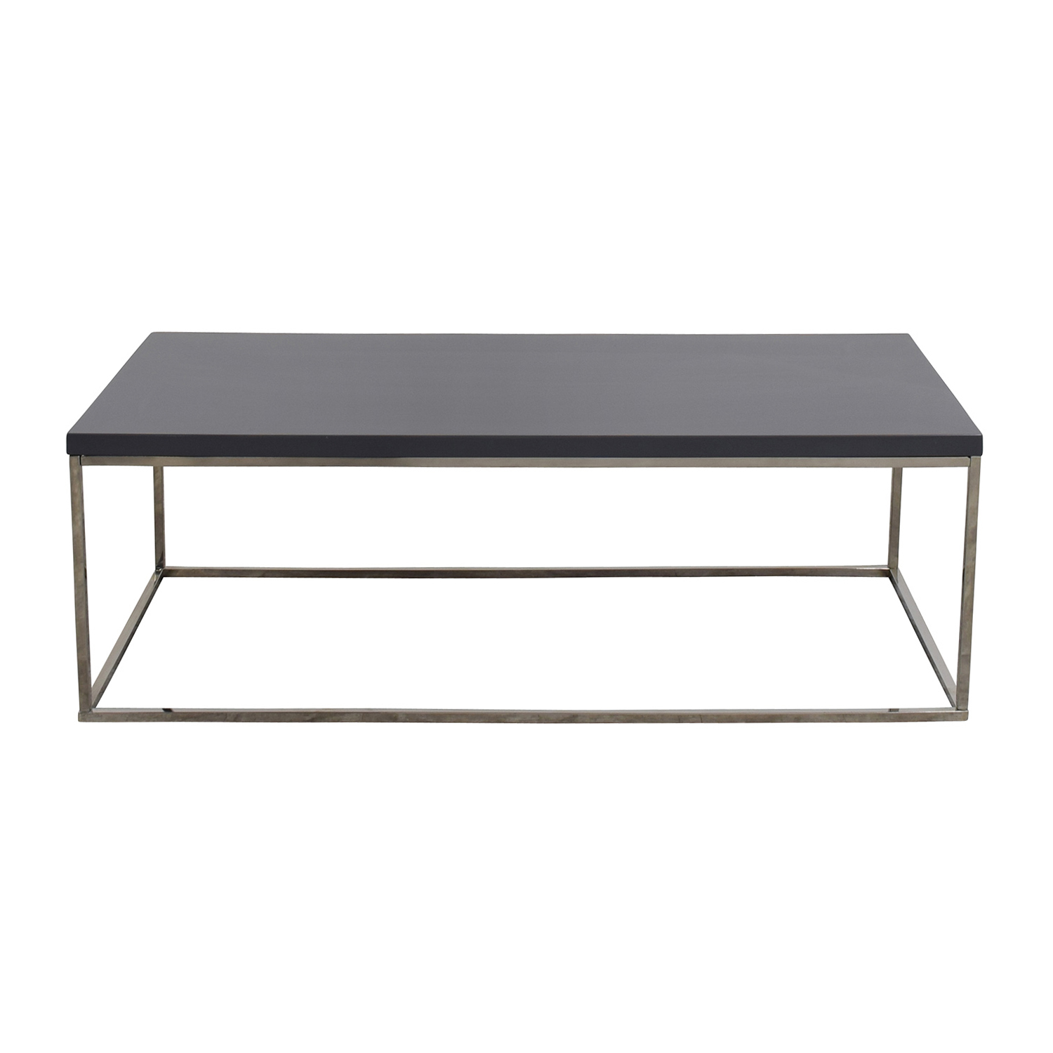 85 off brown wood coffee table with side drawers tables