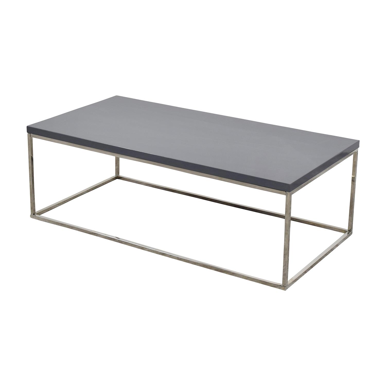 InMod InMod Teresa Rectangular Coffee Table for sale