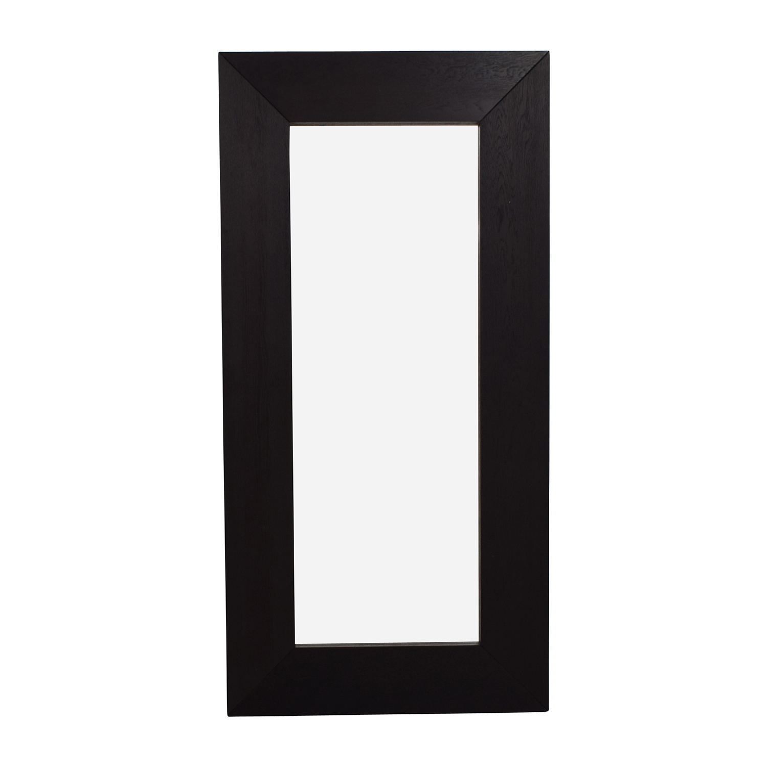 Crate and Barrel Crate & Barrel Large Standing Mirror Black