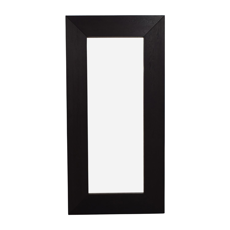 Crate & Barrel Large Standing Mirror / Decor