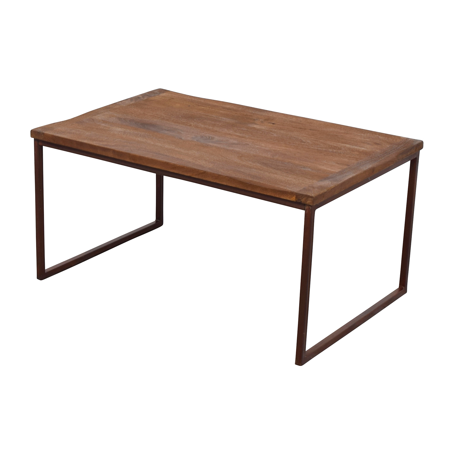Pottery Barn Wood Table: Pottery Barn Pottery Barn Wood And Metal
