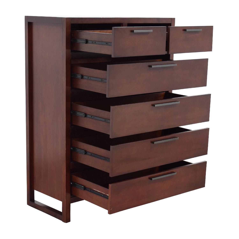 Macys Macys Battery Park Six- Drawer Chest Dressers