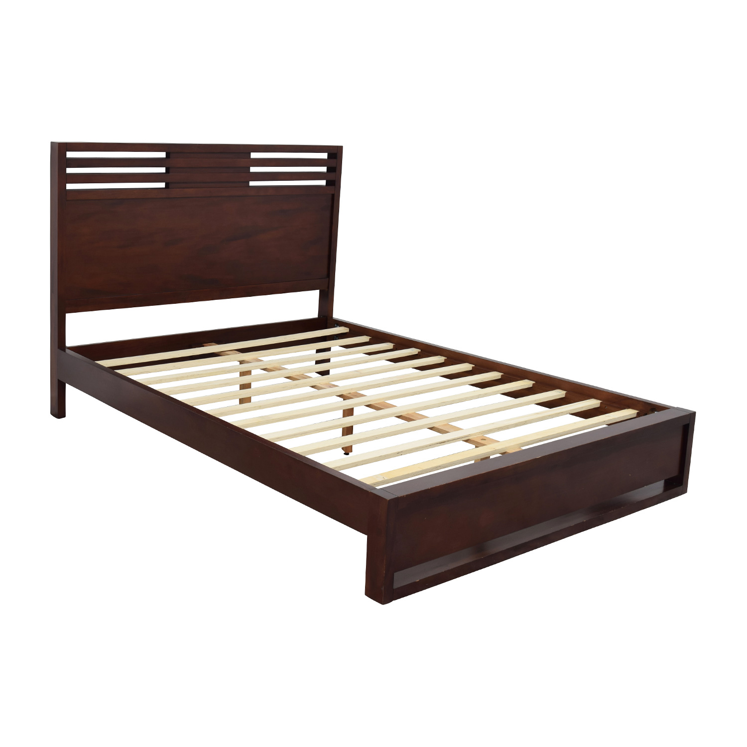 71 off macy 39 s macy 39 s battery park queen bed frame beds for Queen bed frame