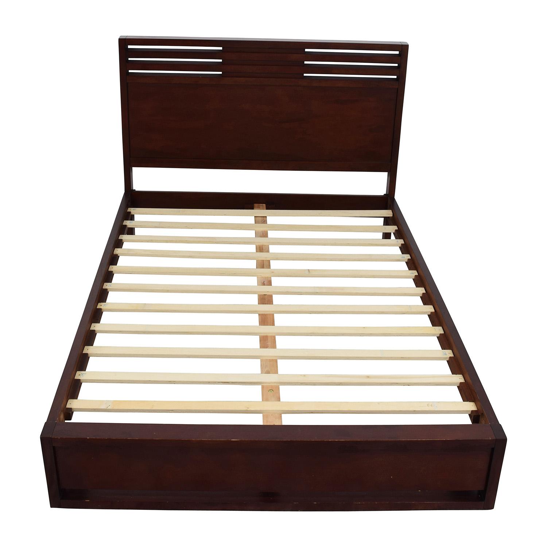 Macys Macys Battery Park Queen Bed Frame on sale