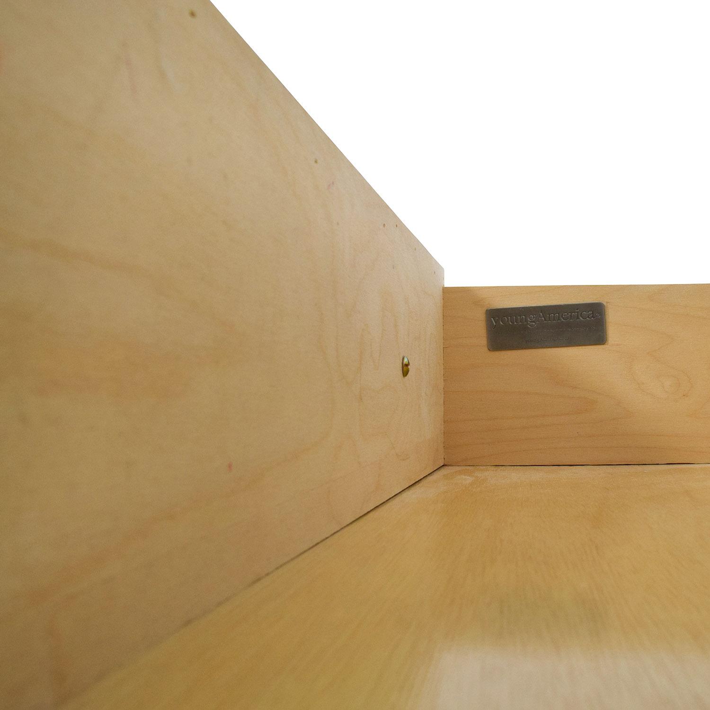 Stanley Furniture Isabella White Five-Drawer Chest sale