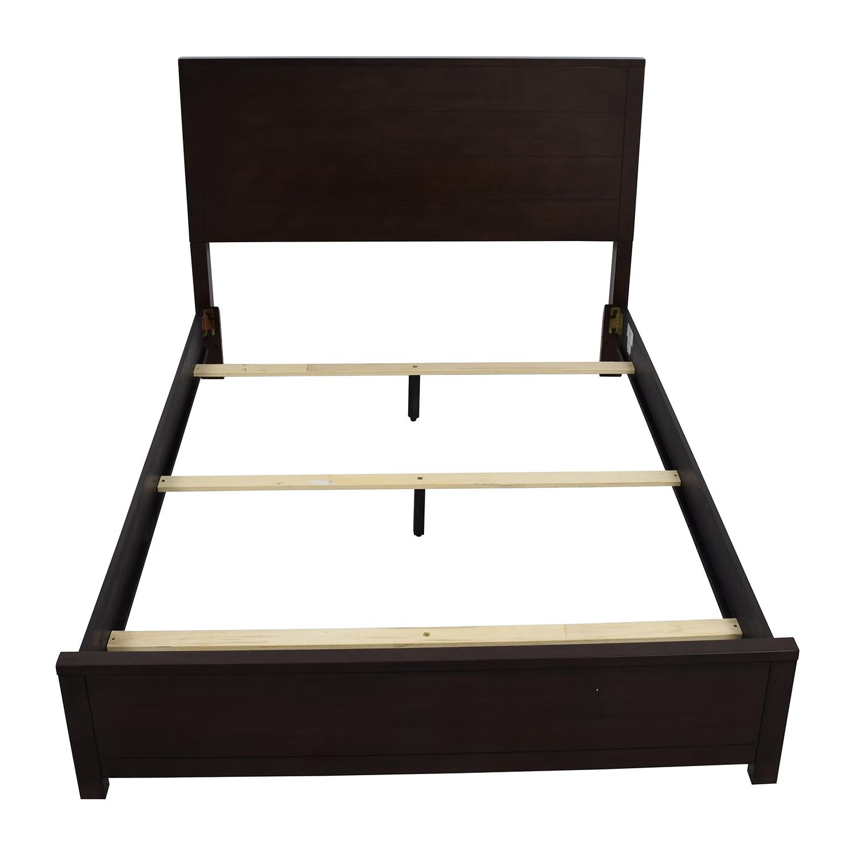 buy Macys Tribeca Queen-Sized Bed in Mocha Macys