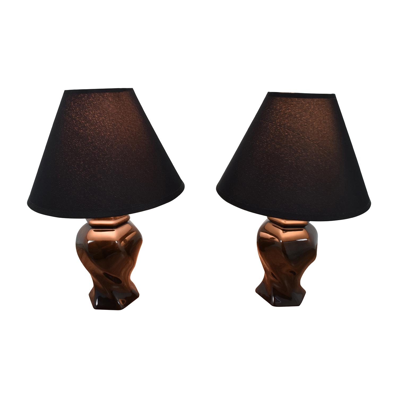 McCallis McCallis Black Table Lamps for sale