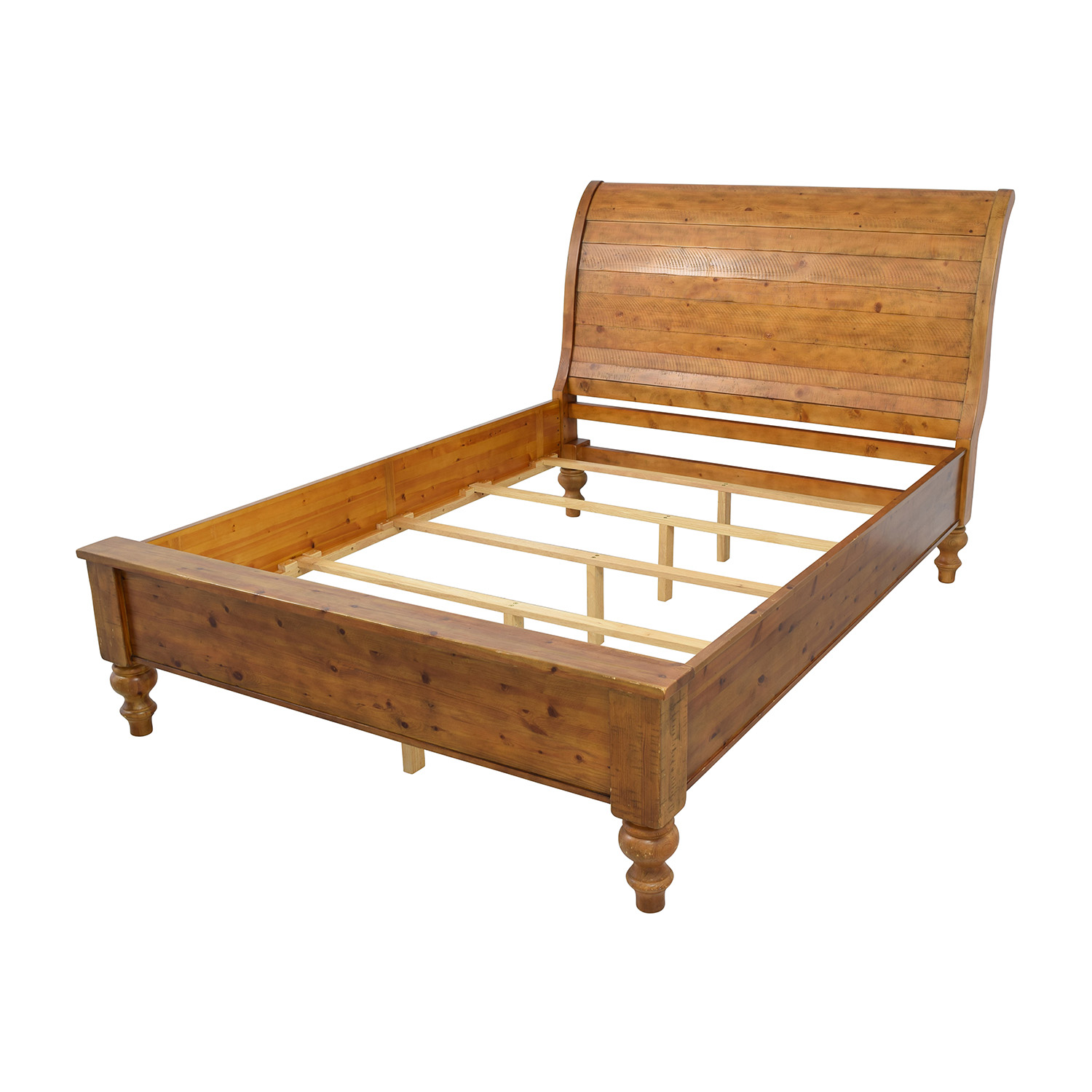Pottery Barn Ashby Queen Sleigh Bed Frame Pottery Barn