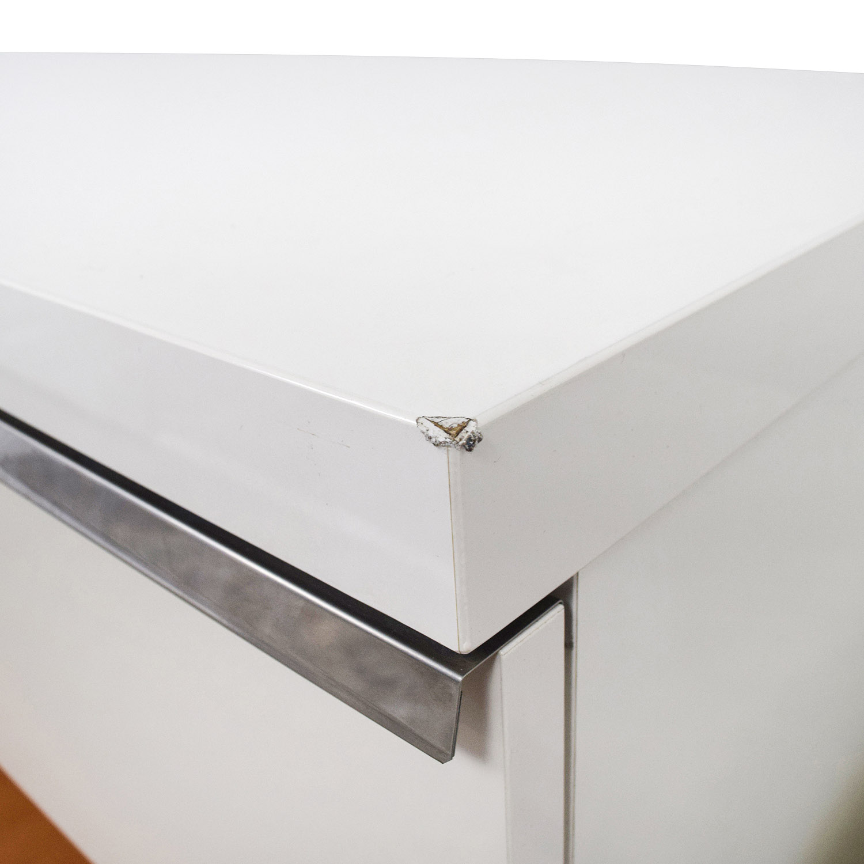 buy ALF Uno SPA Three-Piece Modern Italian White Dresser Set ALF Uno S.P.A Storage