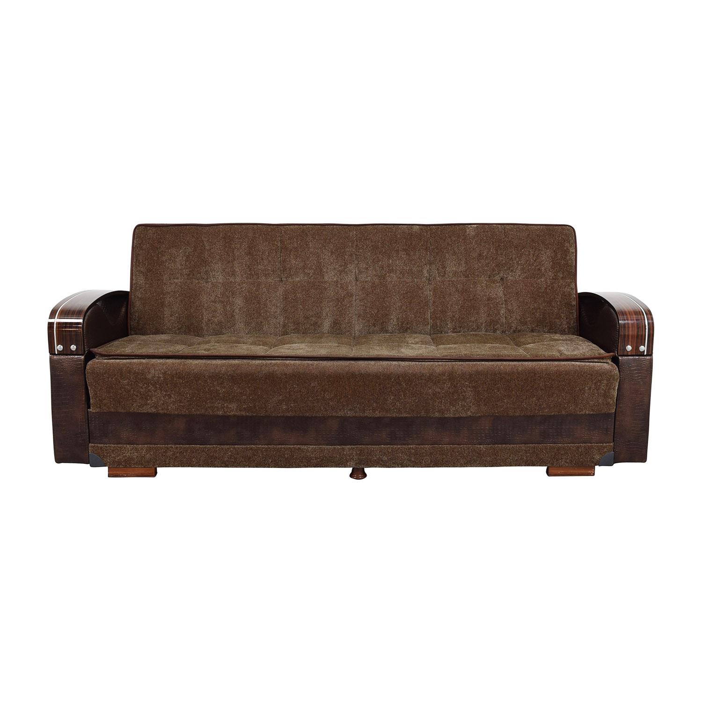 Sleep Mart Sleep Mart Natural Collection Prestige Brown Futon Sofa for sale
