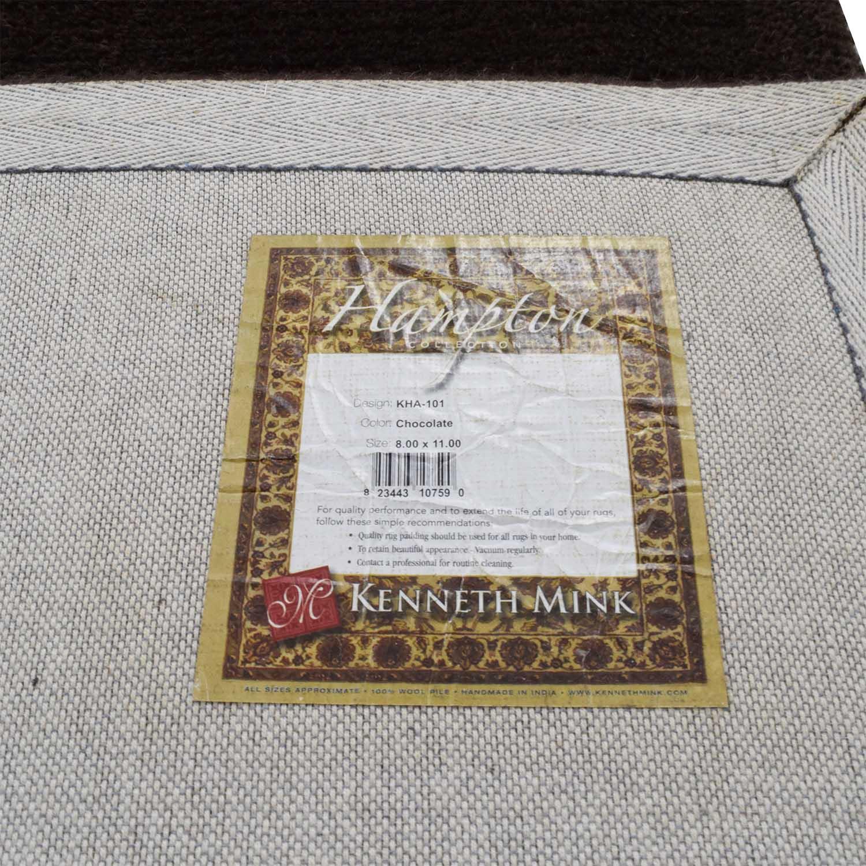 buy Hampton Collection Lorain Chocolate Brown Wool Rug Hampton Collection