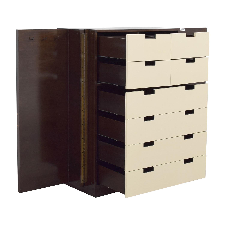 Calvin Klein Eight-Drawer Armoire / Storage