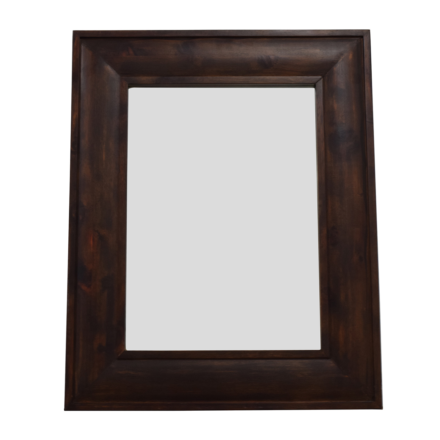 Room board mirror buy for Wood framed mirrors