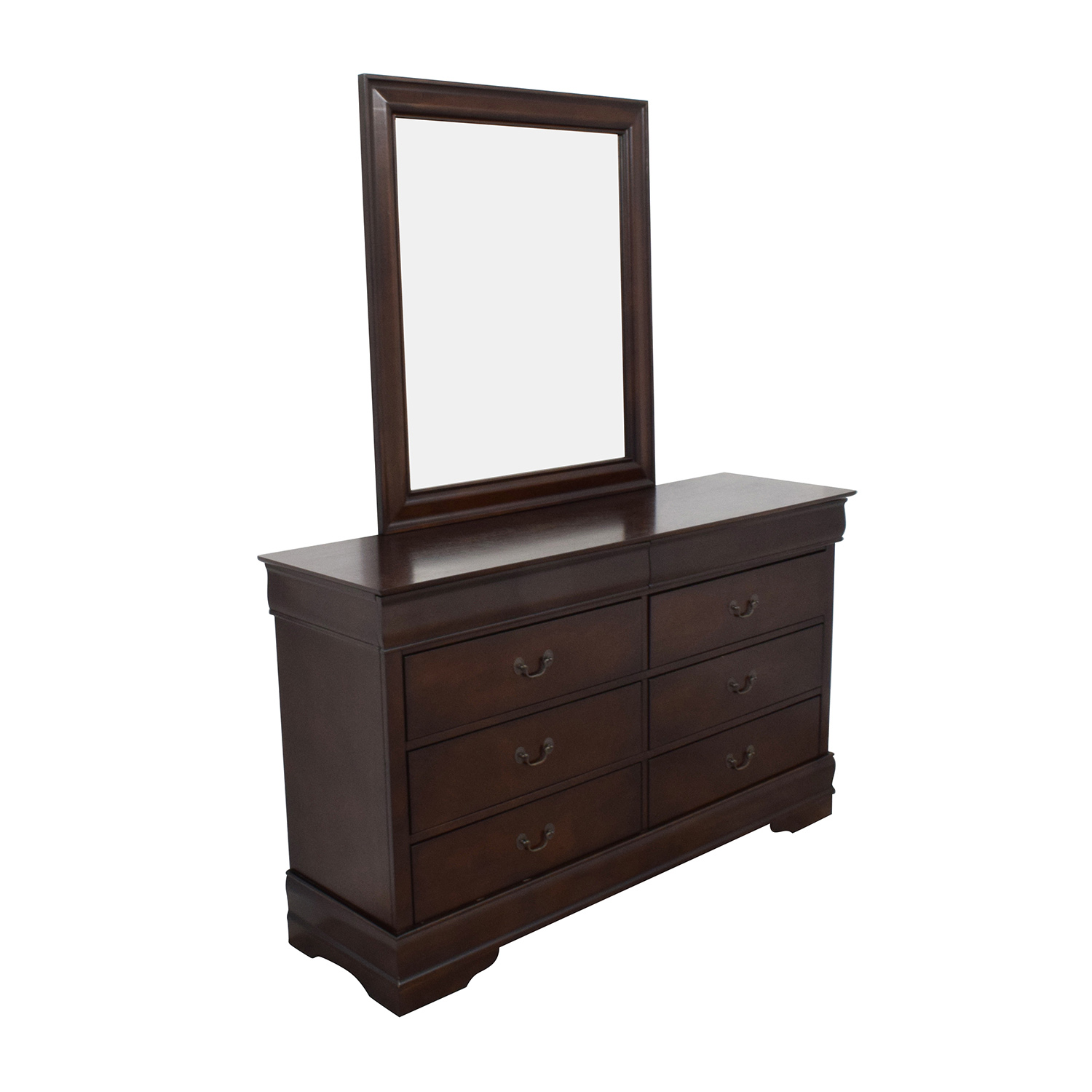 Home Meridian International Home Meridian International Eight-Drawer Dresser with Mirror second hand