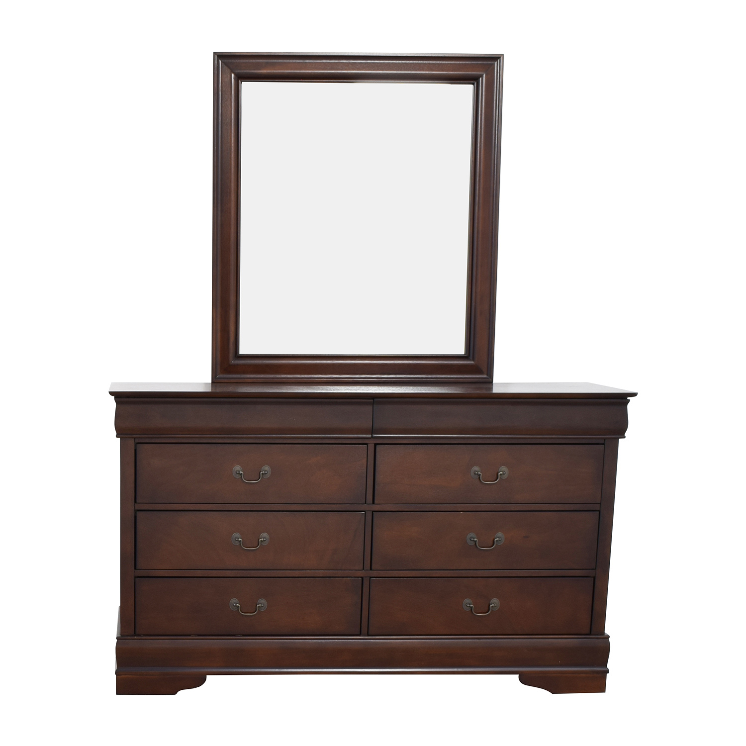 Home Meridian International Eight-Drawer Dresser with Mirror / Dressers