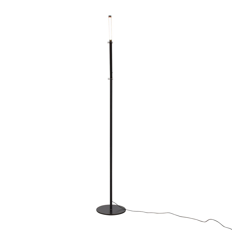 Koncept Koncept Gen 3 Z-Bar Warm Light LED Modern Floor Lamp Black nyc