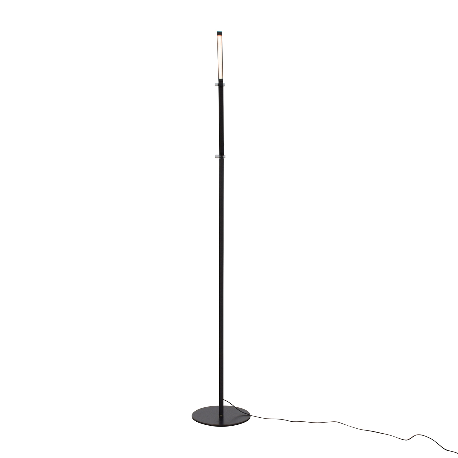 Koncept Koncept Gen 3 Z-Bar Warm Light LED Modern Floor Lamp Black dimensions