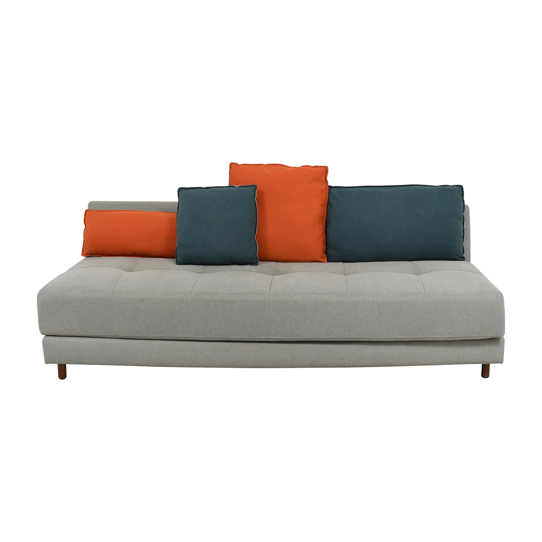 63% OFF - Blu Dot BluDot x Fab Gwynne Sleeper Sofa / Sofas