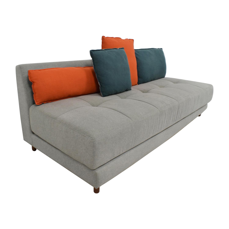 63 off bludot x fab bludot x fab gwynne sleeper sofa for Blu dot sleeper sofa