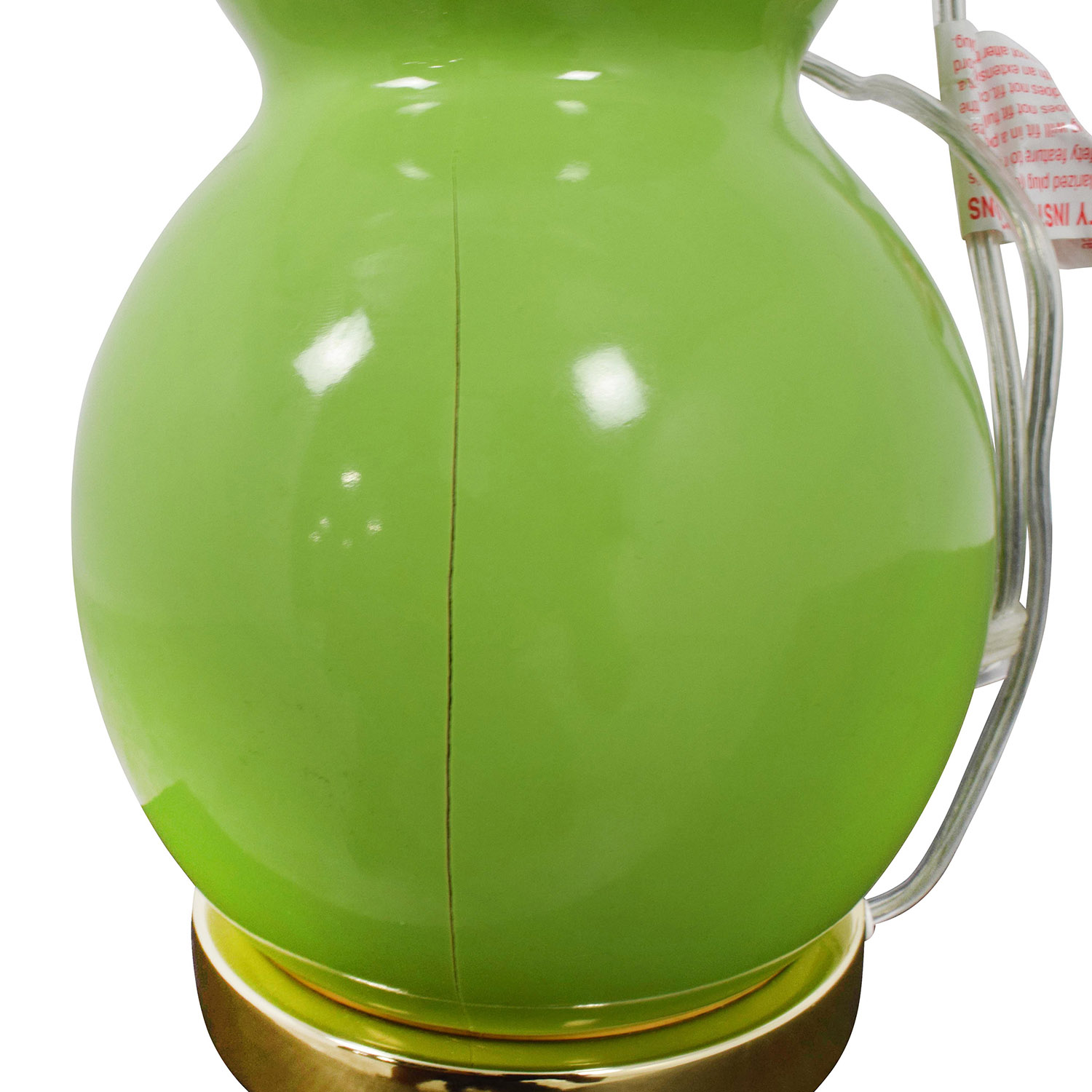 Safavieh Eva Double Green Table Lamps, Set of Two Lamps