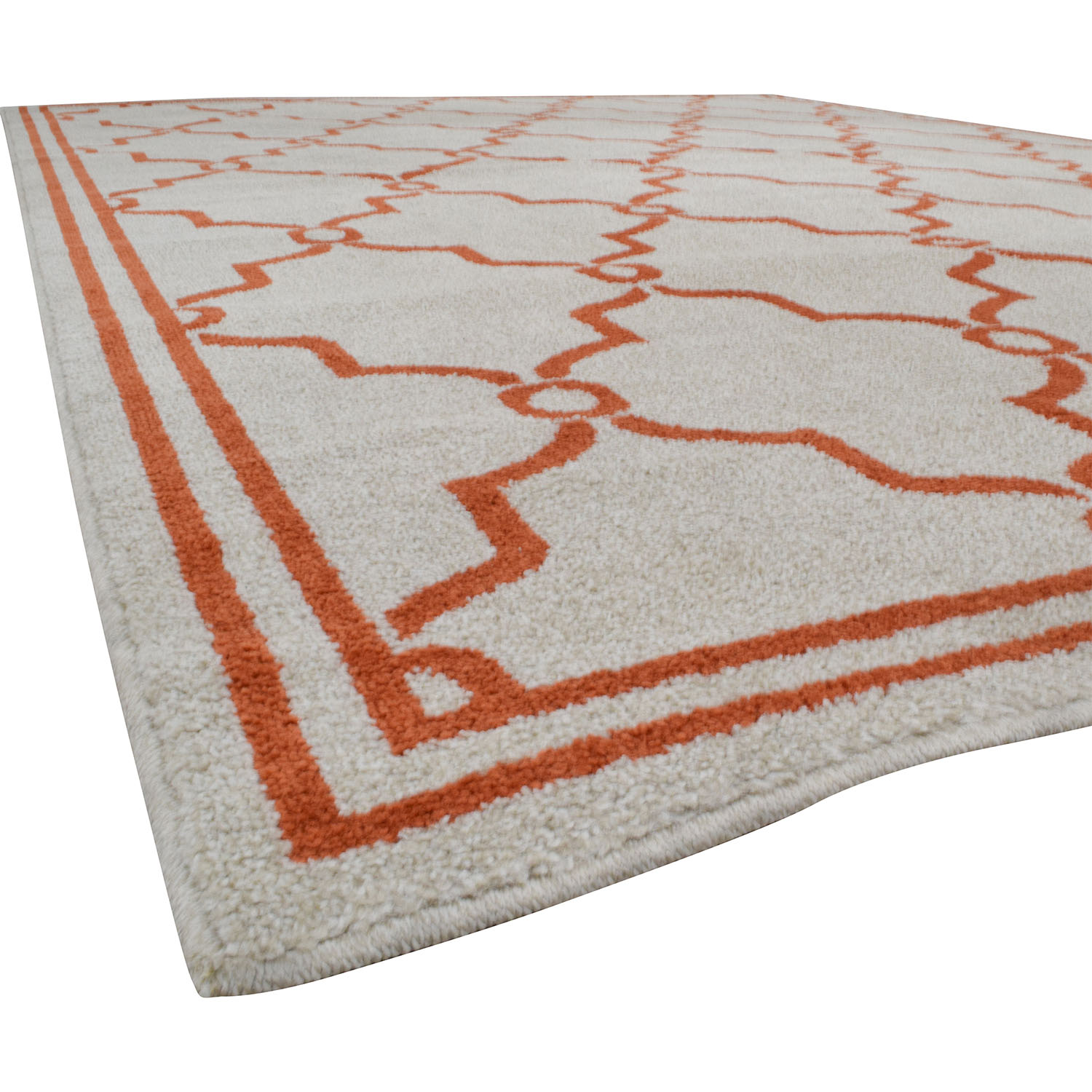 shop Safavieh Amherst Beige and Orange Indoor or Outdoor Rug Safavieh Rugs