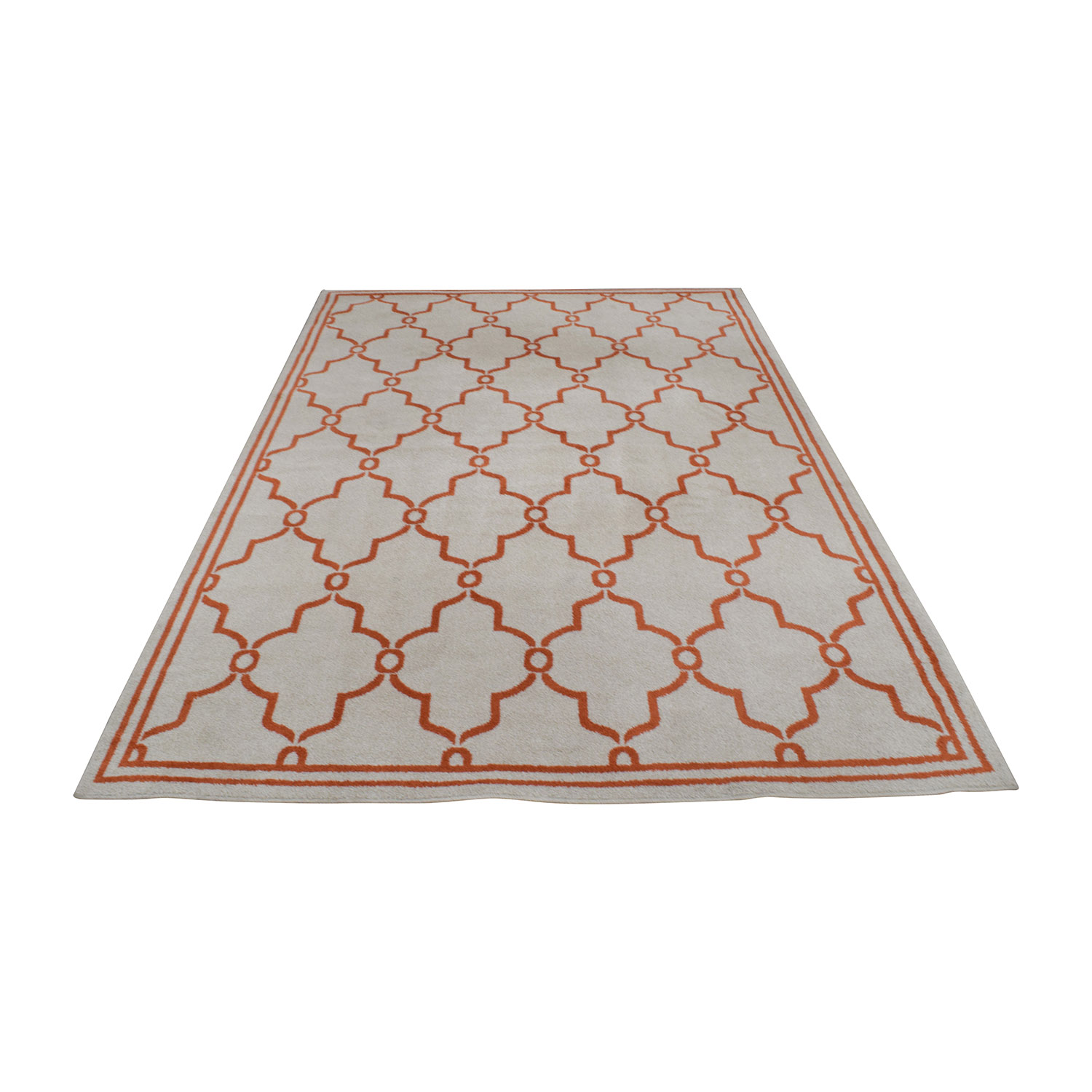 Safavieh Safavieh Amherst Beige and Orange Indoor or Outdoor Rug second hand