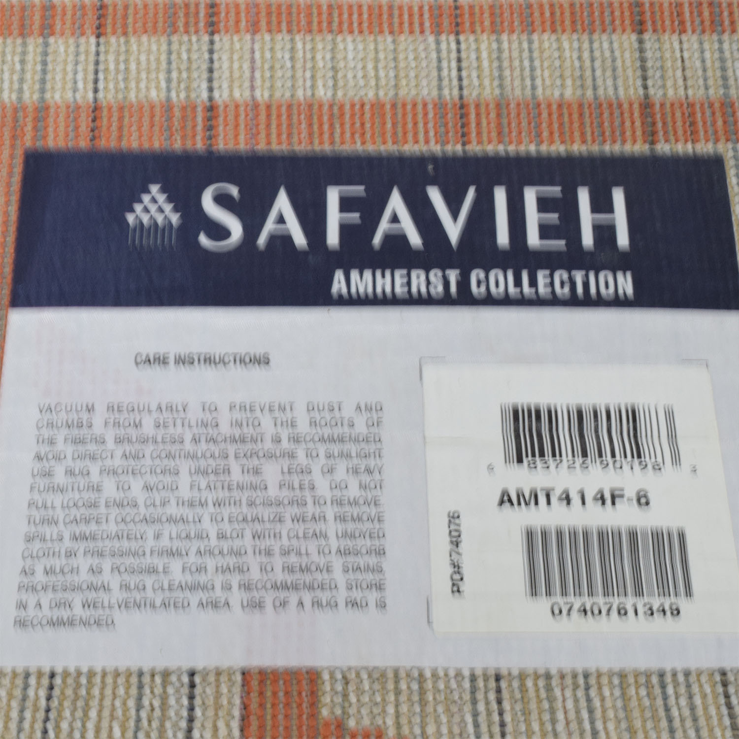 Safavieh Safavieh Amherst Beige and Orange Indoor or Outdoor Rug coupon