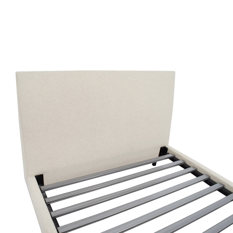 Room & Board Ella Tatum Natural Queen Platform Bed Room & Board