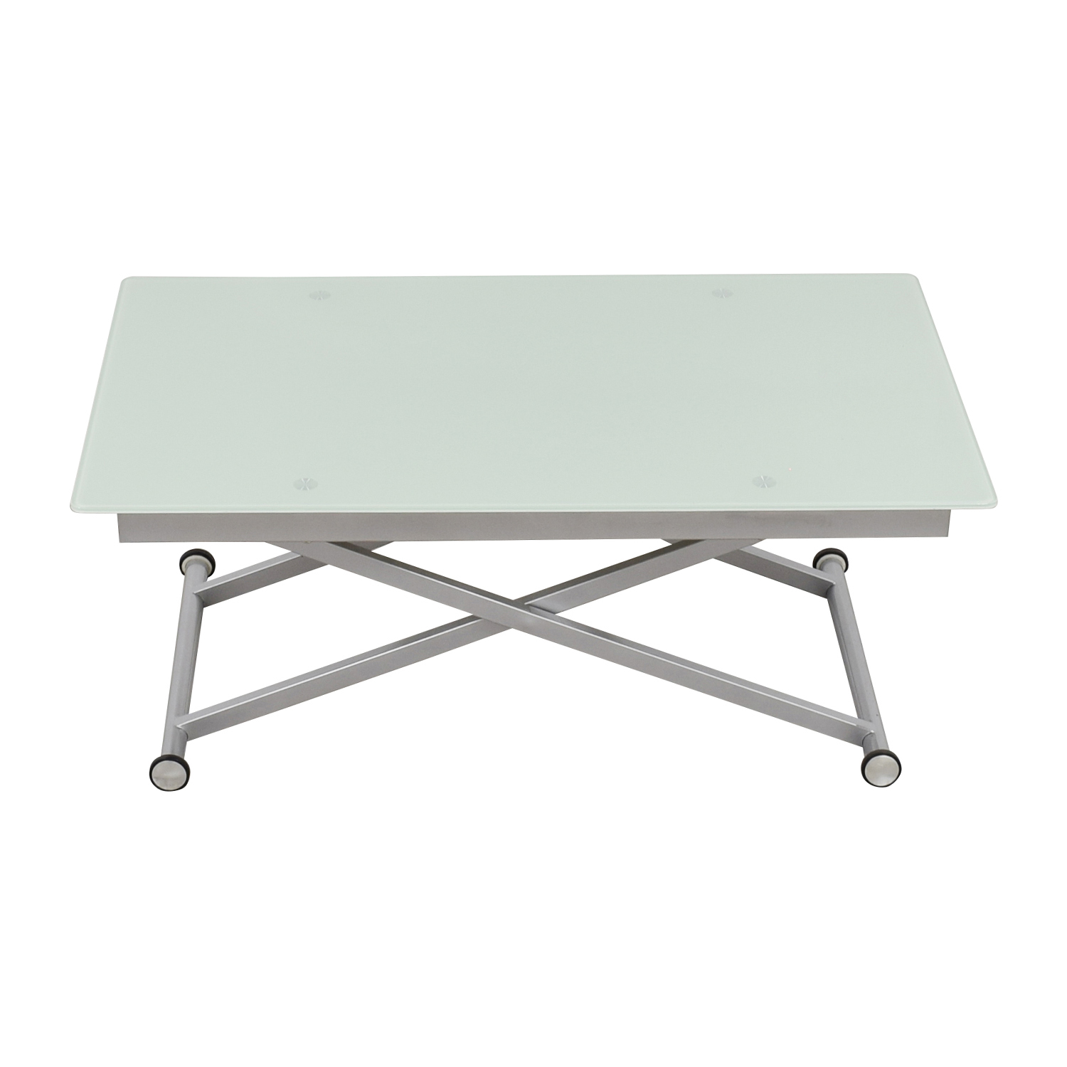 Modern Adjustable Height Coffee Table / Tables