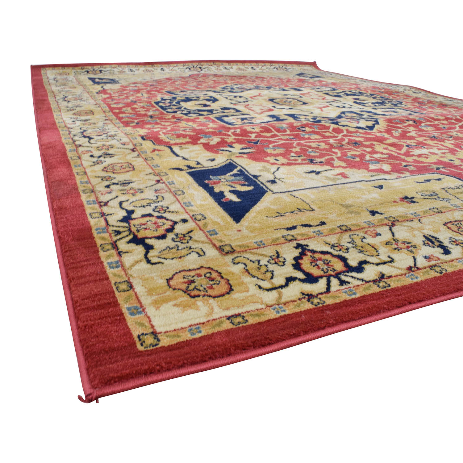 Safavieh Safavieh Austin Red, Beige and Blue Area Rug nyc