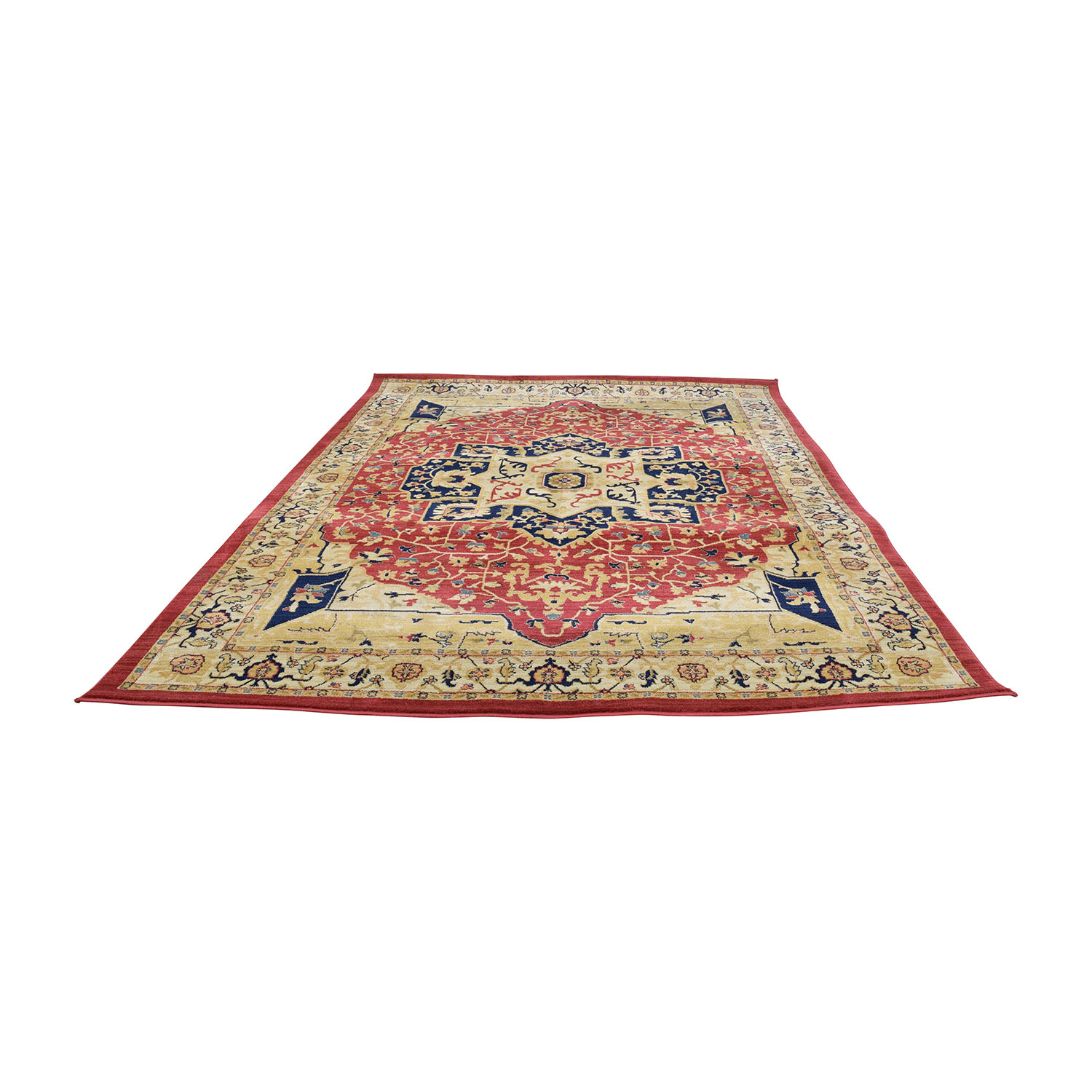 50 Off Safavieh Safavieh Austin Red Beige And Blue Area Rug Decor