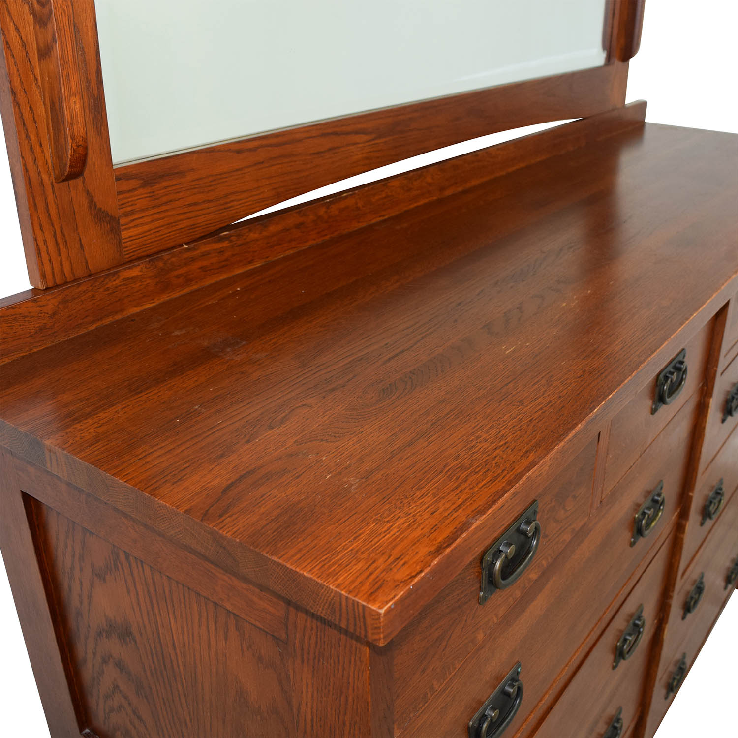 buy Mastercraft Collections Prairie Mission 12-drawer Dresser Mastercraft Collections Dressers