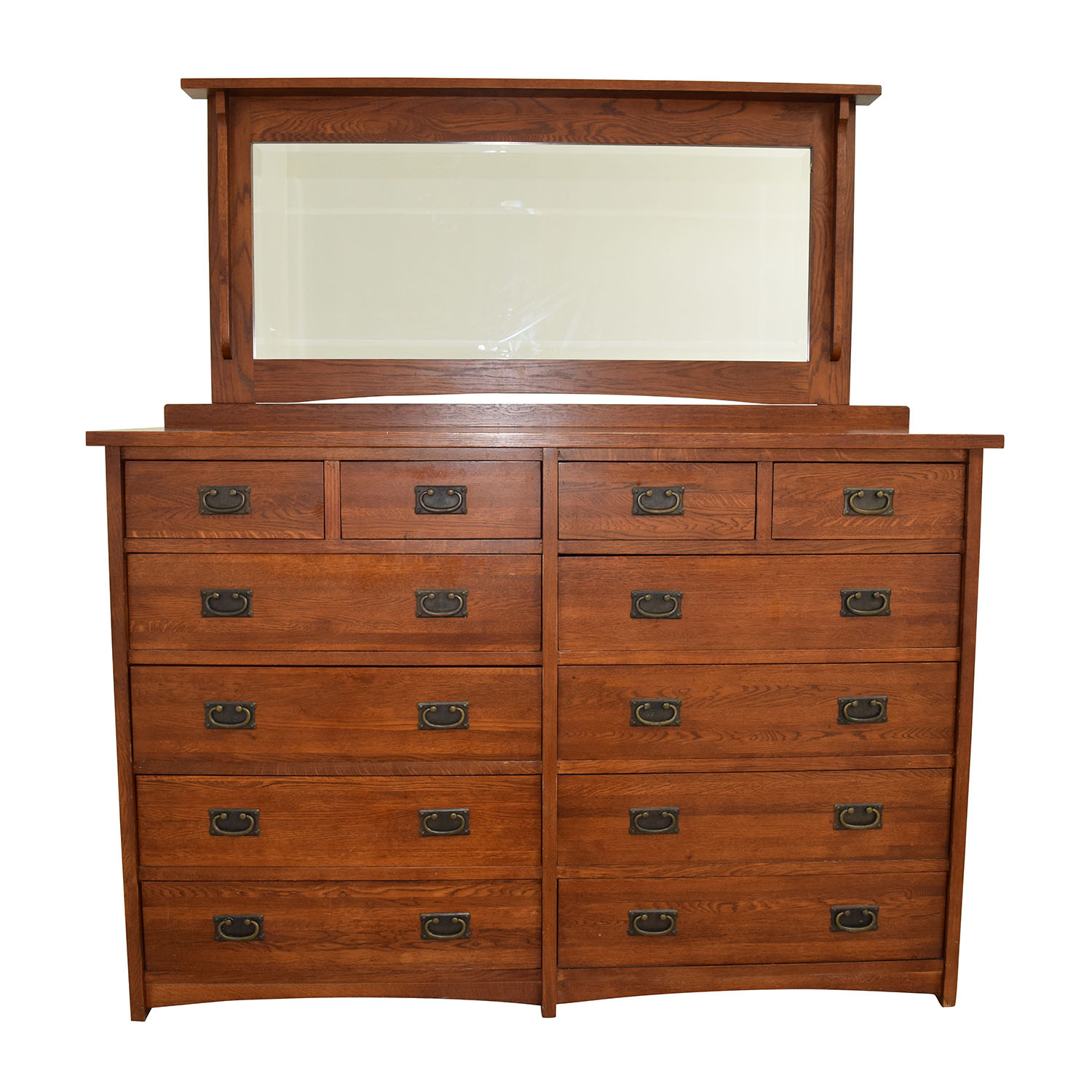 Mastercraft Collections Mastercraft Collections Prairie Mission 12-drawer Dresser